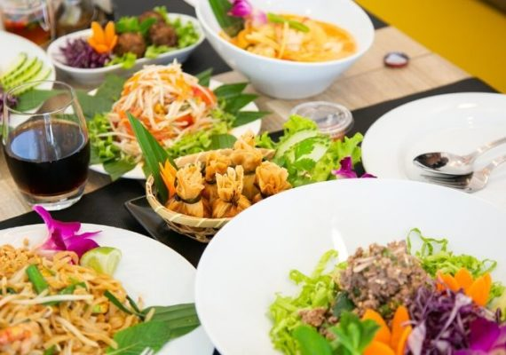 La spécialité du neuf de thaï