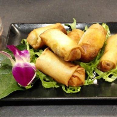 E1 – PHO PIA, nems au porc restaurant le neuf de thai à chatillon